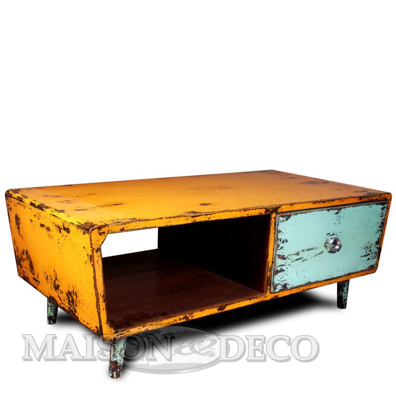 50s 001 M Mindi Wood Retro Coffee Table Maison Et Deco