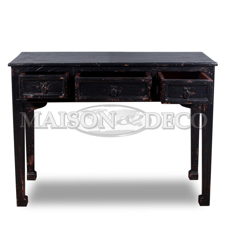 Sbs 218 m black rustic open maison et deco factory of for Furniture yogyakarta
