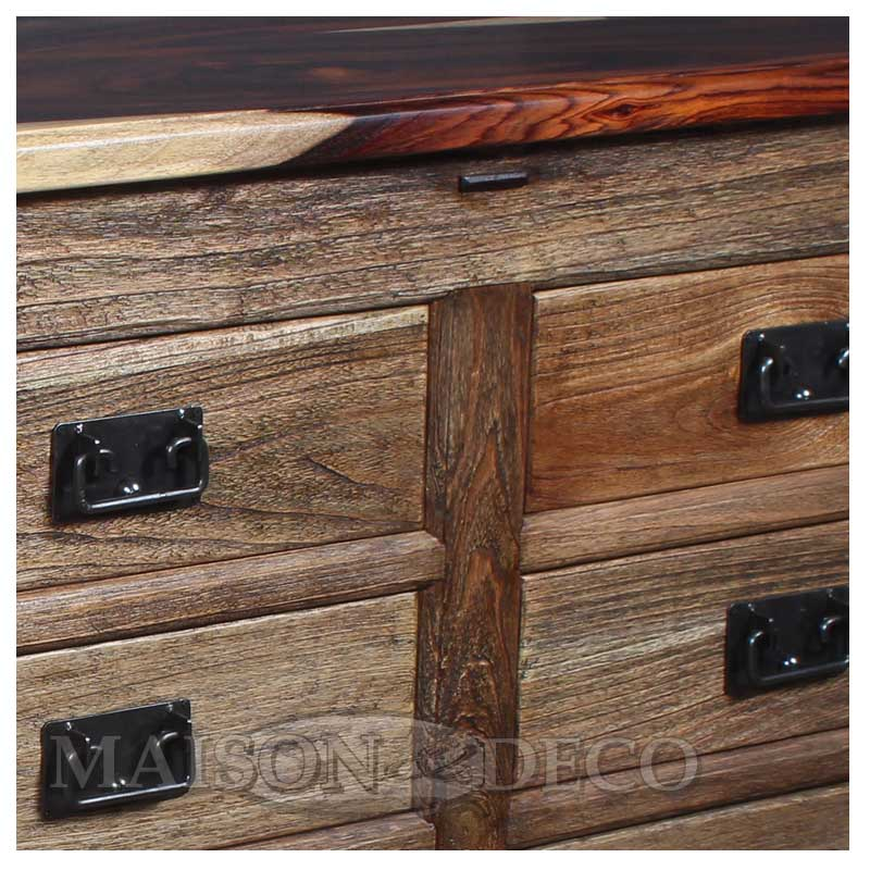 Farm 014 sono muntilan wooden cabinet with sonokeling for Furniture yogyakarta