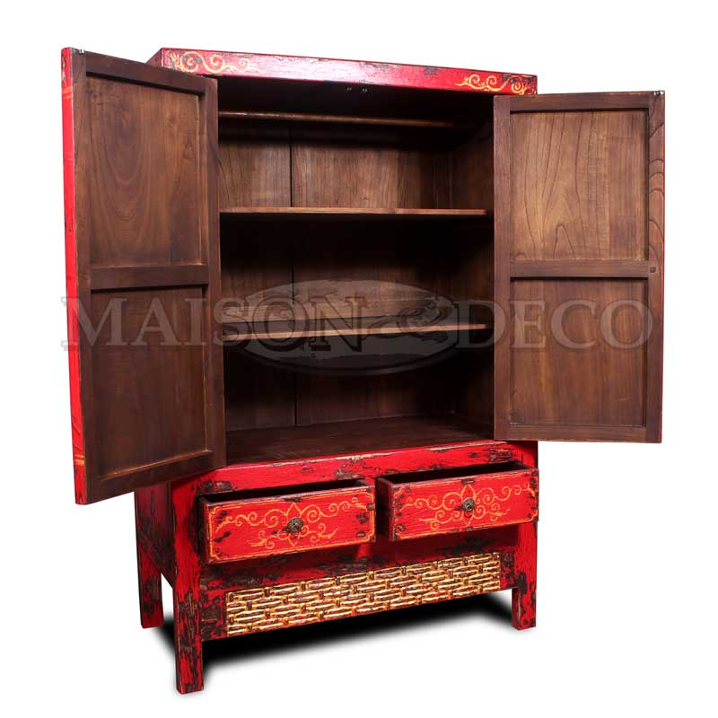 sbs 625 p wooden furniture lindy cabinet with painting