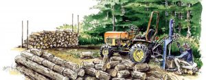 Firewood-Log-Splitter